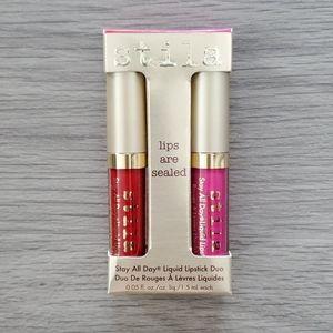 Stila Stay All Day Liquid Lipstick Duo